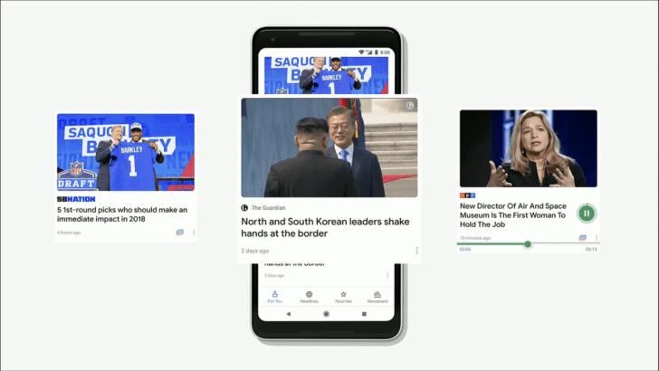 قوقل تُعيد ميزة اختيار المحررين في تطبيقها الاخباريNews
