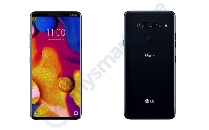 صور مسربة لهاتف LG V40 ThinQ تكشف عن كاميرا بثلاث عدسات