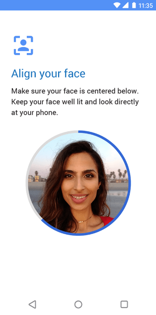 Moto Face Unlock