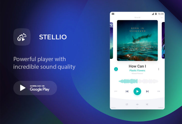 Stellio Player مُشغّل موسيقى قوي قابل للتخصيص بشكل كامل