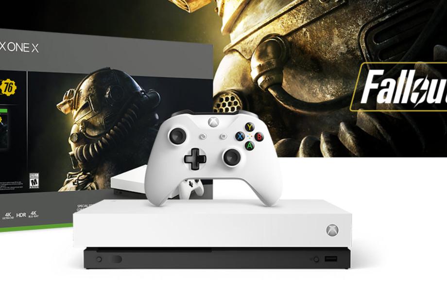 مايكروسوفت تعلن عن جهاز Xbox One X باللون الأبيض وذارع تحكم Elite بيضاء