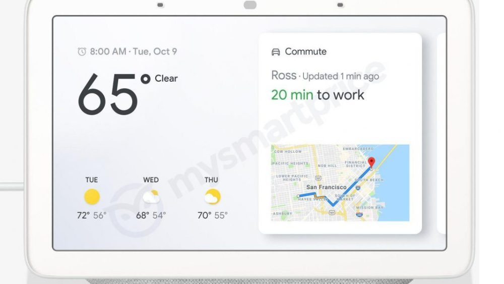 قوقل ستطلق Google Home Hub مساعد صوتي منزلي مع شاشة عرض