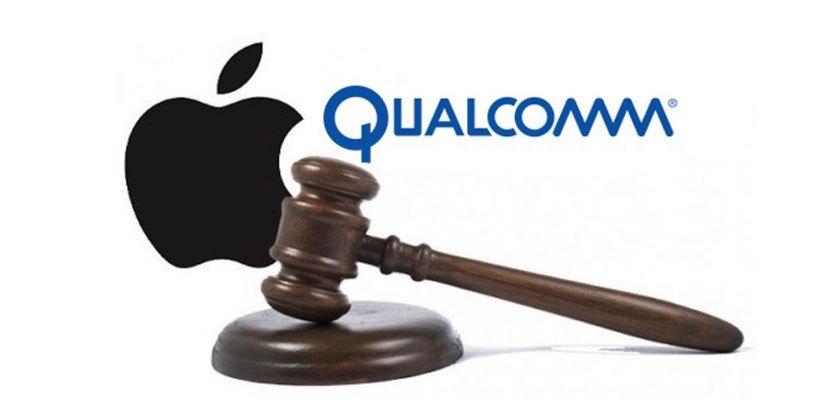 المحكمة تطلب من آبل تعويض كوالكوم بـ31$ مليون لانتهاك ثلاث براءات اختراع
