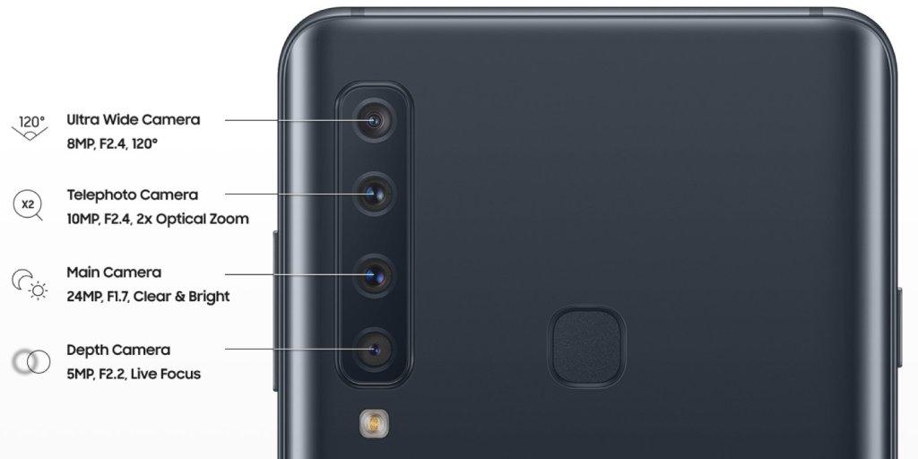 تسريب صورة لهاتف جالاكسي A9 تكشف وجود 4 كاميرات بالخلف