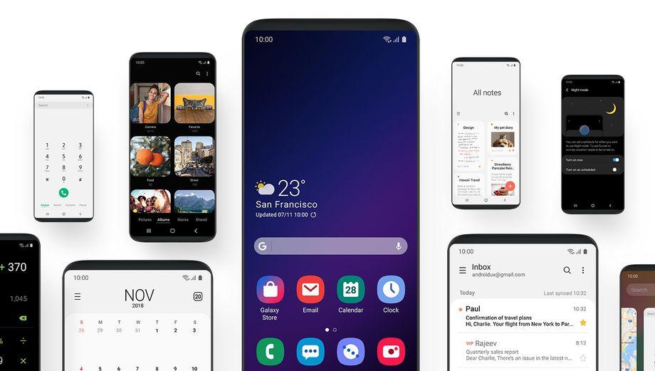سامسونج تكشف عن واجهة المستخدم One UI لتسهيل استخدام الهواتف الكبيرة