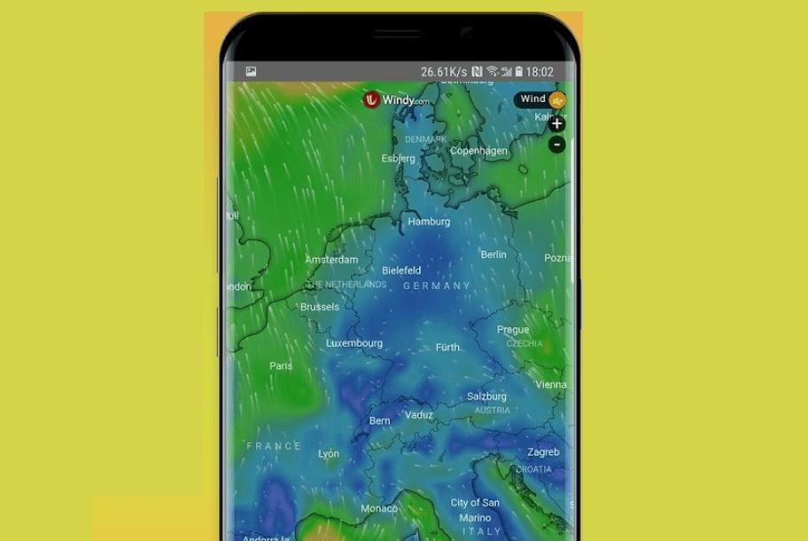 إطلاق تطبيق الطقس الجديدApex Weather على متجر قوقل بلاي
