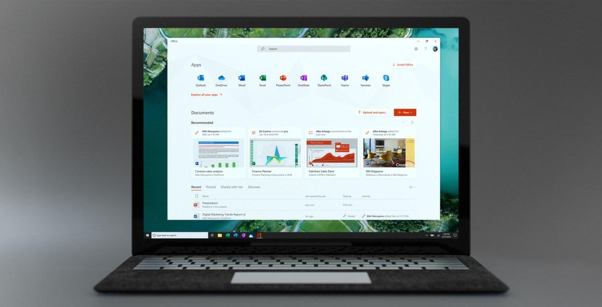 مايكروسوفت تُطلق تطبيق أوفيس الجديد لمستخدمي ويندوز 10