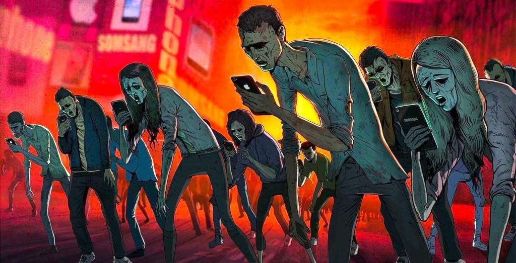أدمان وسائل تواصل اجتماعي