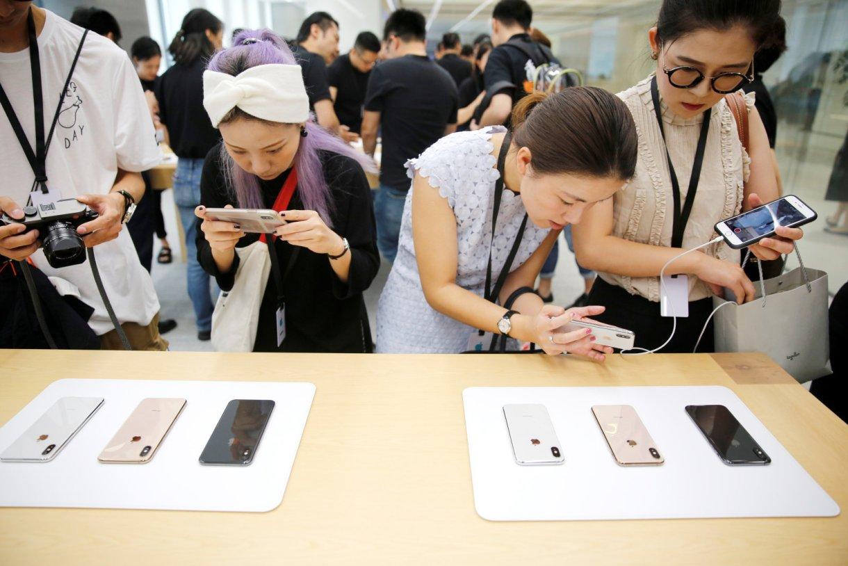 مبيعات الهواتف الذكية تصل لأدنى مستوى لها في الصين منذ عام 2013
