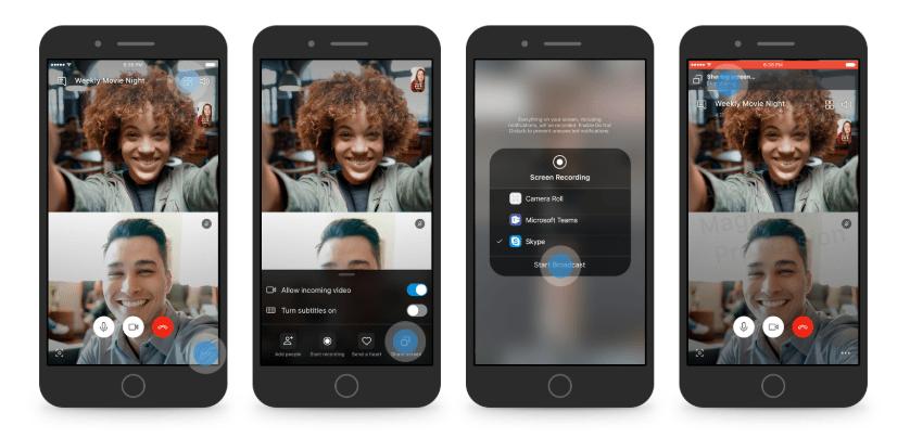 قريبًا تطبيق سكايب سيدعم ميزة مشاركة الشاشة على أندرويد و iOS
