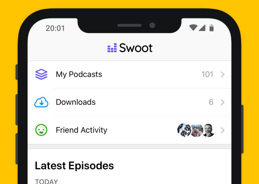 جديد التطبيقات Swoot: تطبيق بودكاست اجتماعي لمستخدمي أندرويد