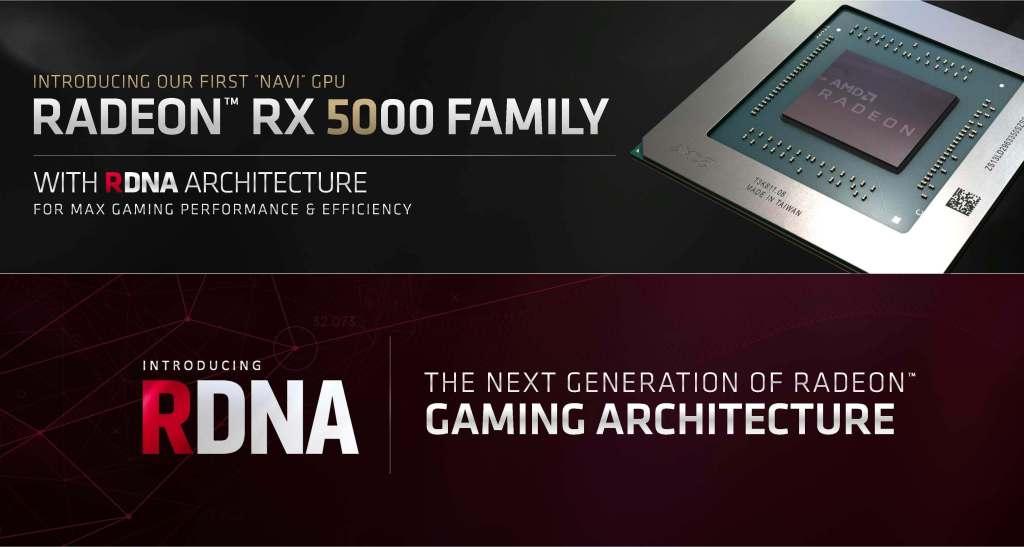 شركة AMD تطلق أول معالج رسومات Navi بتقنية 7 نانومتر