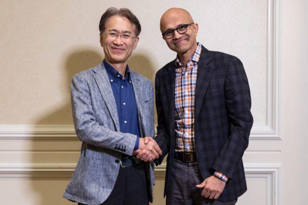 شراكة بين مايكروسوفت و سوني لتطوير الالعاب السحابية وخدمات بث المحتوى