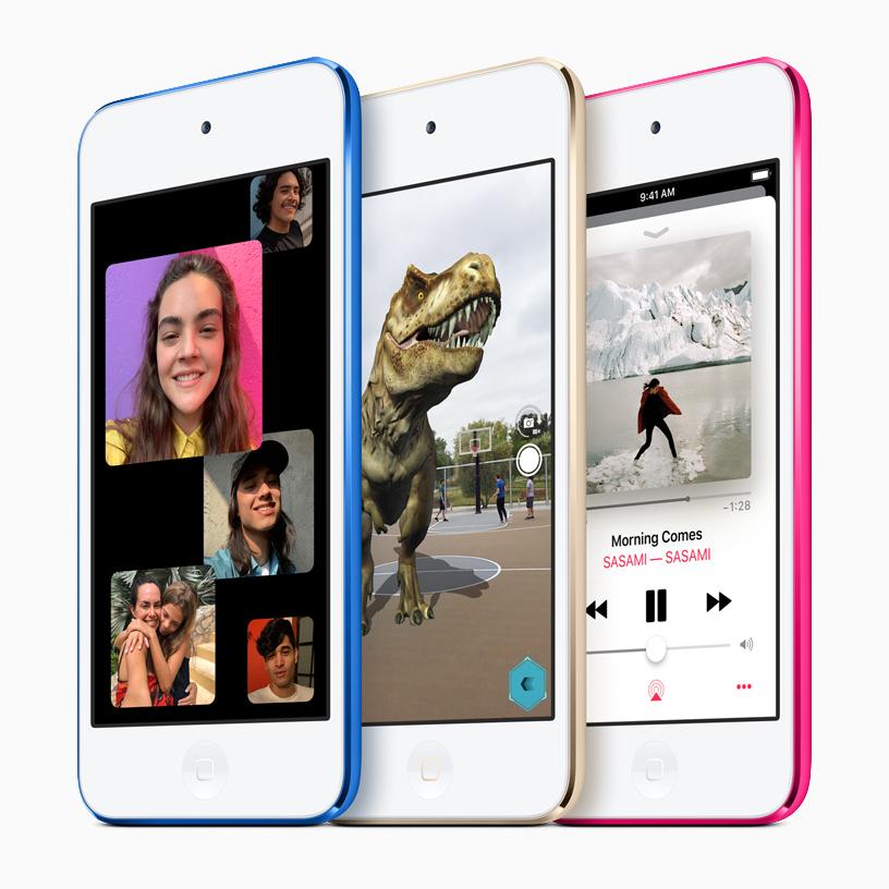 آبل تعلن عن جهاز آيبود جديد مع شاشة لمسية ودعم مزايا الواقع المعزز - iPod Touch