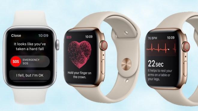 تطبيق تخطيط القلب وإشعار عدم انتظام دقات القلب يصلان إلى ساعة آبل
