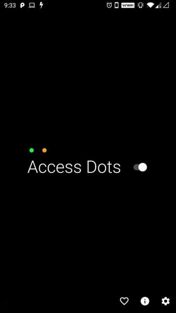Access Dots تطبيق جديد يوفّر ميزة مؤشرات الوصول في iOS 14 إلى أندرويد