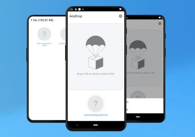جديد التطبيقات: AnyDrop إلى مشاركة الملفات عبر الأنظمة الأساسية