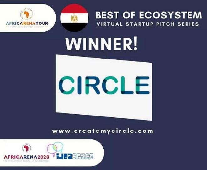 """تطبيق إدارة الممتلكات العقارية """"Circle"""" يفوز بمسابقة أفضل شركه ناشئه في مصر - AfricaArena"""