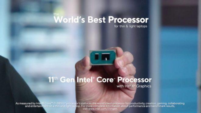 إنتل تكشف عن معالجات الجيل الحادي عشر مدمجة بوحدة معالجة الرسومات Xe - 11thGen Intel Core