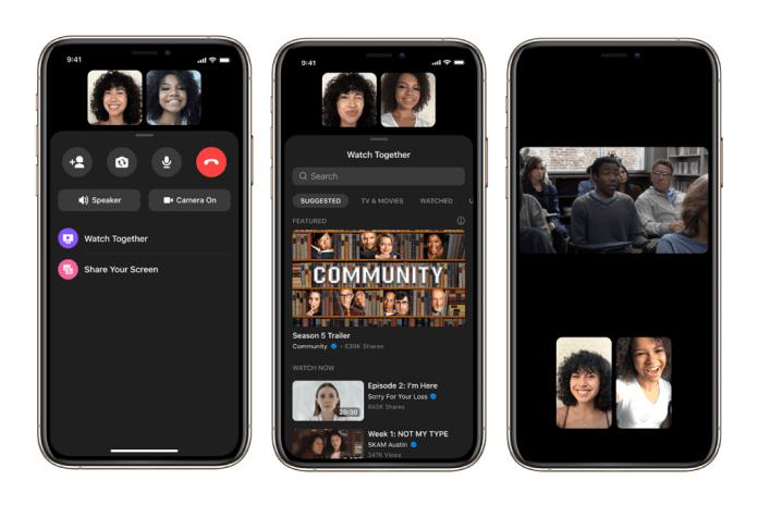 يأتي Facebook مزودًا بميزة Watch Together لمستخدمي Messenger