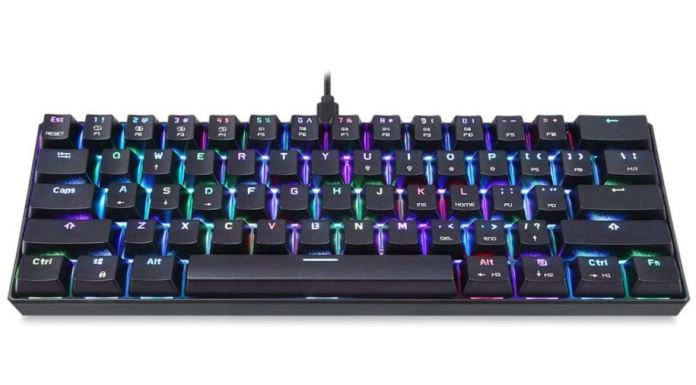 Motospeed CK61 mechanical keyboard
