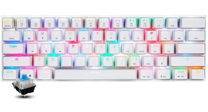 Motospeed CK62 mechanical keyboard