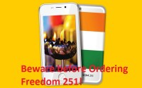 Freedom 251 mobile phone is a scam or cheat