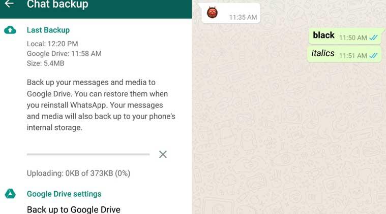 whatsapp latest update