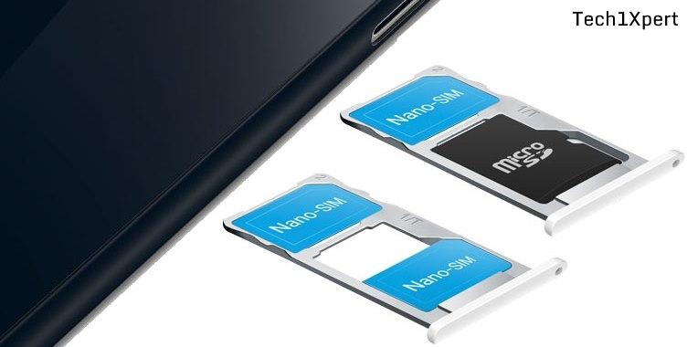Hybrid SIM Slot