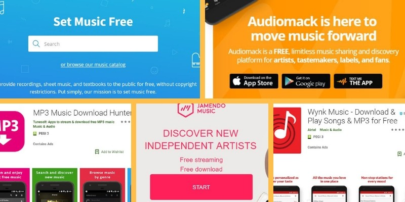 Online Websites That Offer Free And Legal Music