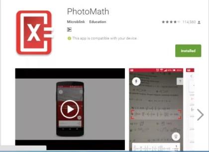 photomath camera calculator download