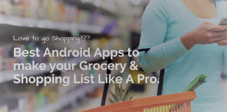 grocery and shopping list apps for android