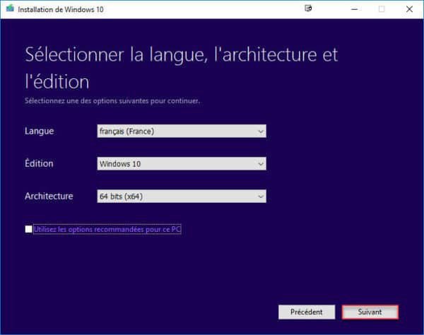 Tlcharger LISO De Windows 10 Creators Update Version