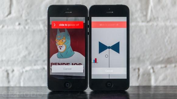Apple iOS7 Beta 5 vrijgegeven voor ontwikkelaars - Aangepast lockscreen