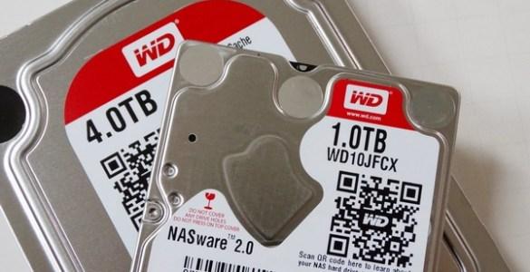 Western Digital Red serie uitgebreide met 3 modellen