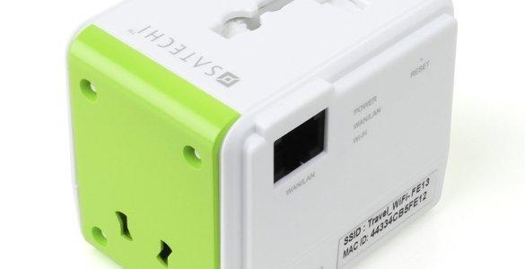 De Satechi Smart Travel Router, een handige tool voor onderweg