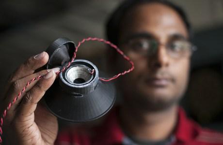 Cornell University print werkende speaker met 3D printer