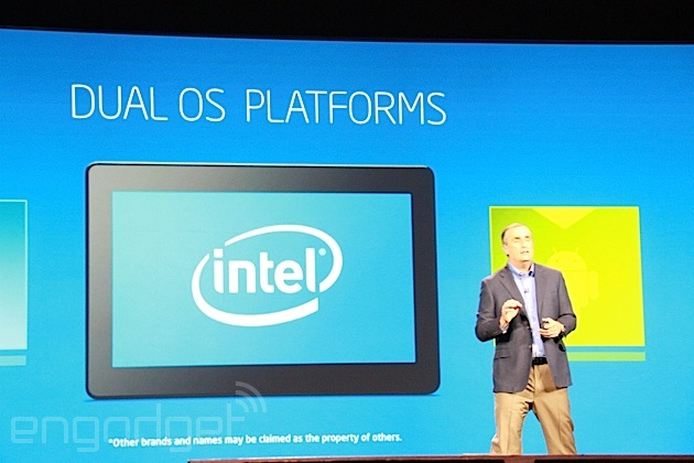 Intel keynote CES 2014 - Dual OS Platform