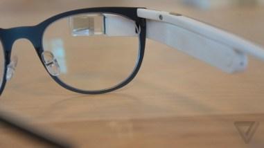Google Glass monturen voor glazen op scherpte