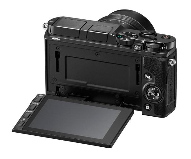 Nikon 1 V3 systeem camera achterkant