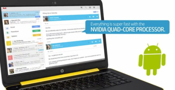 hp-slatebook 14 Android laptop