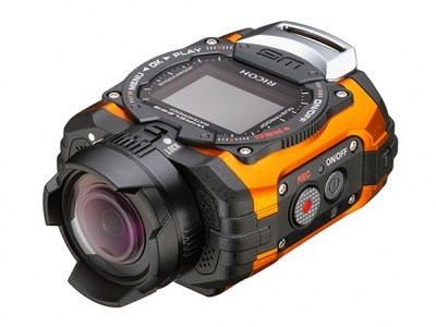 RICOH WG-M1 Oranje Voorkant