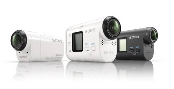 Sony Action Cam HDR-AZ1VR triple