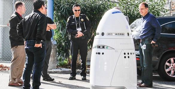 K5 beveiligingsrobot