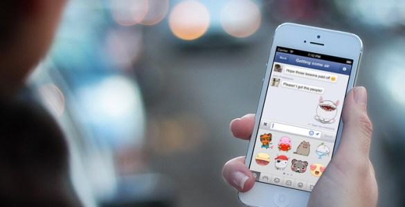 Facebook Messenger scherm
