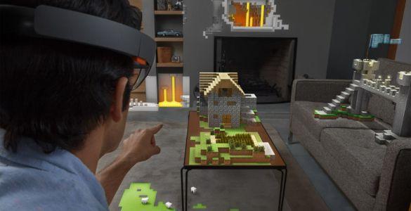 Minecraft-HoloLens