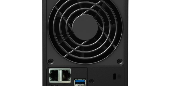 Synology DS715 achterkant