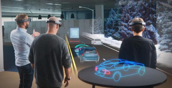 Volvo en HoloLens brengen Argumented Reality naar de showroom