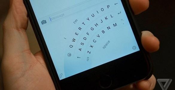 Word-Flow-one-handed-keyboard-iPhone