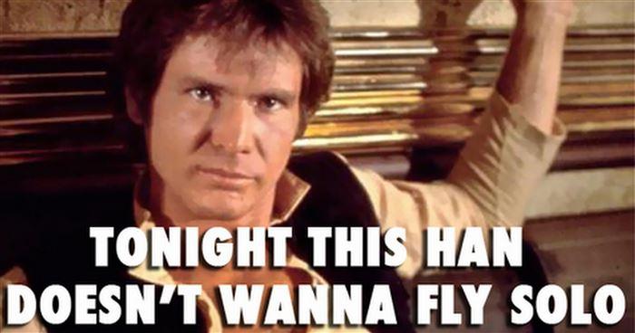 Han doesn't wanna fly solo